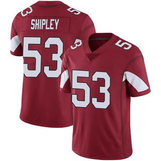 A.Q. Shipley Men's Arizona Cardinals Nike Cardinal 100th Vapor Jersey - Limited