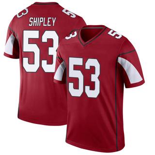 A.Q. Shipley Men's Arizona Cardinals Nike Cardinal Jersey - Legend