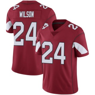 Adrian Wilson Men's Arizona Cardinals Nike Cardinal 100th Vapor Jersey - Limited