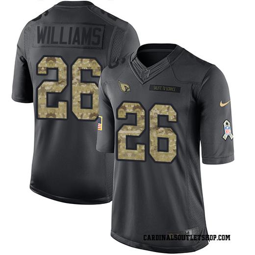 Brandon Williams Men's Arizona Cardinals Nike 2016 Salute to Service Jersey - Limited Black