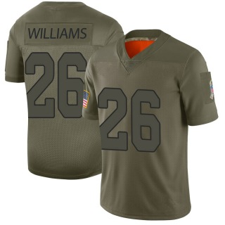 Brandon Williams Men's Arizona Cardinals Nike 2019 Salute to Service Jersey - Limited Camo