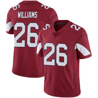 Brandon Williams Men's Arizona Cardinals Nike Cardinal 100th Vapor Jersey - Limited