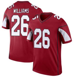 Brandon Williams Men's Arizona Cardinals Nike Cardinal Jersey - Legend