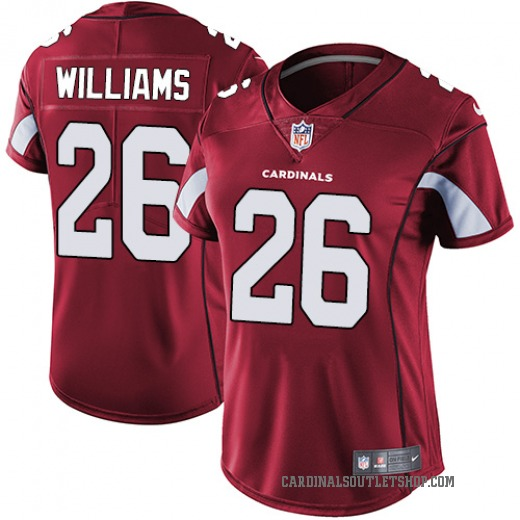 Brandon Williams Women's Arizona Cardinals Nike Team Color Jersey - Limited Red