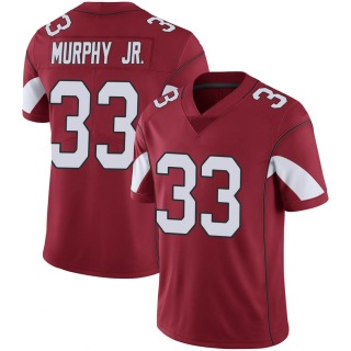 Byron Murphy Men's Arizona Cardinals Nike Cardinal 100th Vapor Jersey - Limited