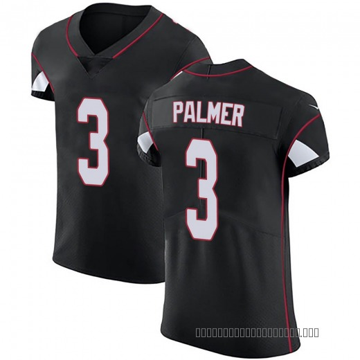 34b027657 Carson Palmer Men's Arizona Cardinals Nike Alternate Vapor Untouchable  Jersey - Elite Black