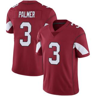 Carson Palmer Men's Arizona Cardinals Cardinal 100th Vapor Jersey - Limited