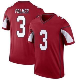 Carson Palmer Men's Arizona Cardinals Cardinal Jersey - Legend