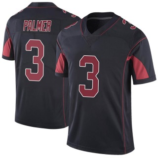 Carson Palmer Men's Arizona Cardinals Nike Color Rush Vapor Untouchable Jersey - Limited Black