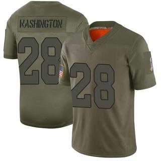 Charles Washington Men's Arizona Cardinals Nike 2019 Salute to Service Jersey - Limited Camo