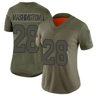 Charles Washington Women's Arizona Cardinals Nike 2019 Salute to Service Jersey - Limited Camo