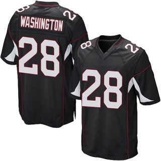 Charles Washington Youth Arizona Cardinals Nike Alternate Jersey - Game Black