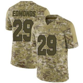 Chase Edmonds Men's Arizona Cardinals Nike 2018 Salute to Service Jersey - Limited Camo