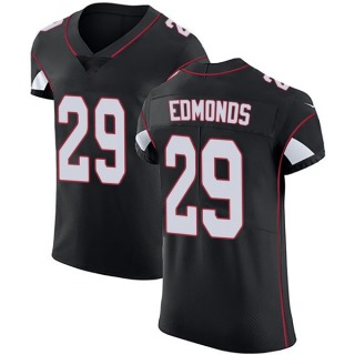 Chase Edmonds Men's Arizona Cardinals Nike Alternate Vapor Untouchable Jersey - Elite Black