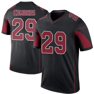 Chase Edmonds Men's Arizona Cardinals Nike Color Rush Jersey - Legend Black