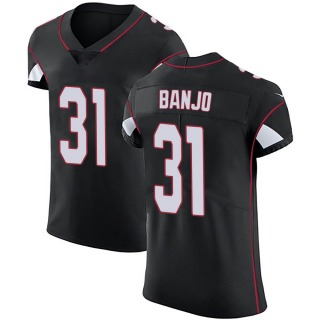 Chris Banjo Men's Arizona Cardinals Nike Alternate Vapor Untouchable Jersey - Elite Black
