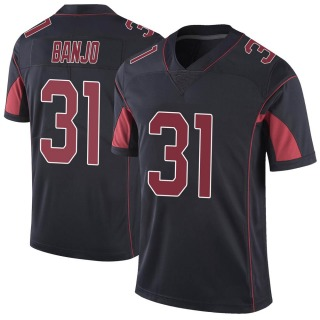 Chris Banjo Men's Arizona Cardinals Nike Color Rush Vapor Untouchable Jersey - Limited Black