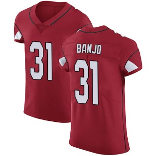 Chris Banjo Men's Arizona Cardinals Nike Team Color Vapor Untouchable Jersey - Elite Red