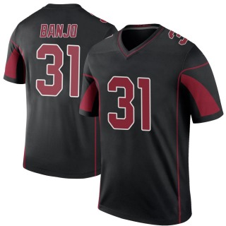 Chris Banjo Youth Arizona Cardinals Nike Color Rush Jersey - Legend Black