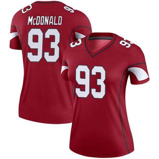 Clinton McDonald Women's Arizona Cardinals Nike Cardinal Jersey - Legend