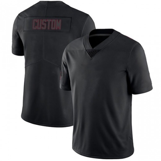 Custom Youth Arizona Cardinals Nike # # Jersey - Limited Black Impact