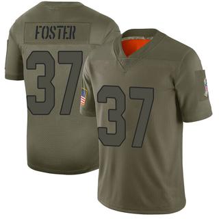 D.J. Foster Men's Arizona Cardinals Nike 2019 Salute to Service Jersey - Limited Camo