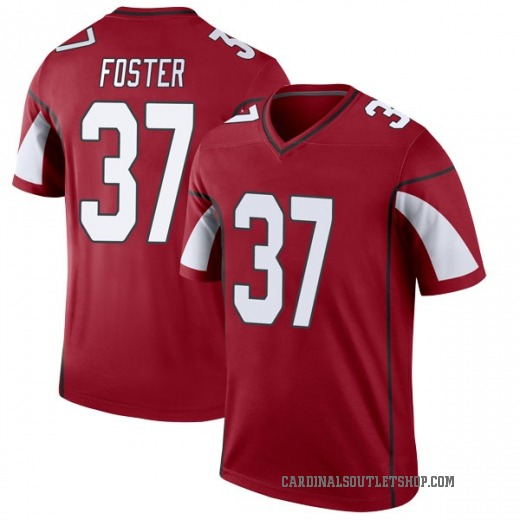 new product 6a9f0 31421 D.J. Foster Men's Arizona Cardinals Nike Cardinal Jersey - Legend