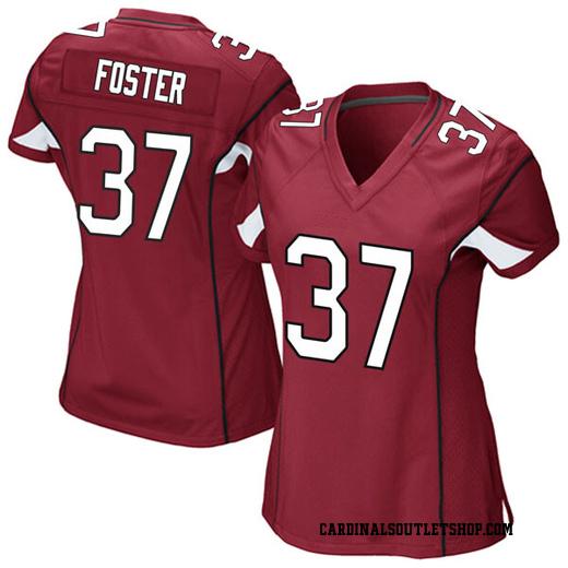 D.J. Foster Women's Arizona Cardinals Nike Cardinal Team Color Jersey - Game
