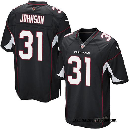 hot sale online 2d6df 026fa David Johnson Men's Arizona Cardinals Nike Alternate Jersey - Game Black