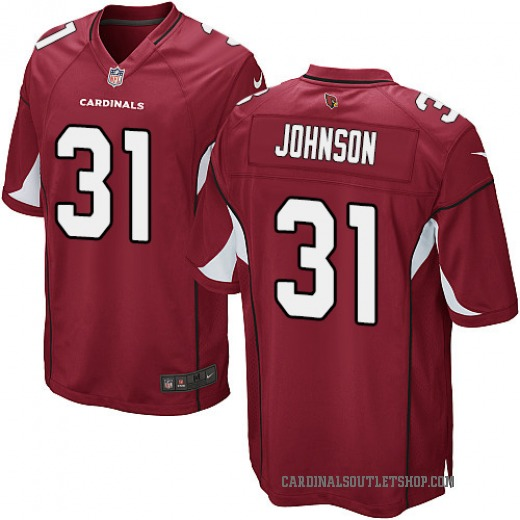 Hot David Johnson Youth Arizona Cardinals Nike Team Color Jersey Game Red  for cheap
