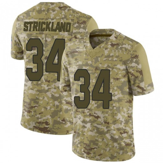 Dontae Strickland Men's Arizona Cardinals Nike 2018 Salute to Service Jersey - Limited Camo
