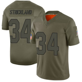 Dontae Strickland Men's Arizona Cardinals Nike 2019 Salute to Service Jersey - Limited Camo