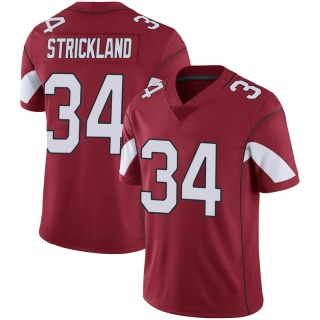 Dontae Strickland Men's Arizona Cardinals Nike Cardinal 100th Vapor Jersey - Limited