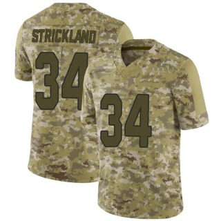 Dontae Strickland Youth Arizona Cardinals Nike 2018 Salute to Service Jersey - Limited Camo
