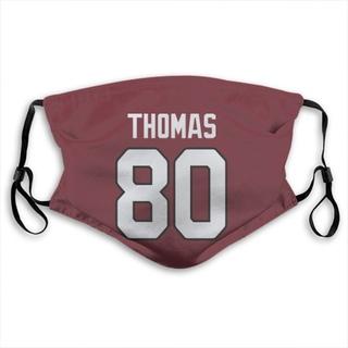 Jordan Thomas Arizona Cardinals Jersey Name & Number Face Mask - Red
