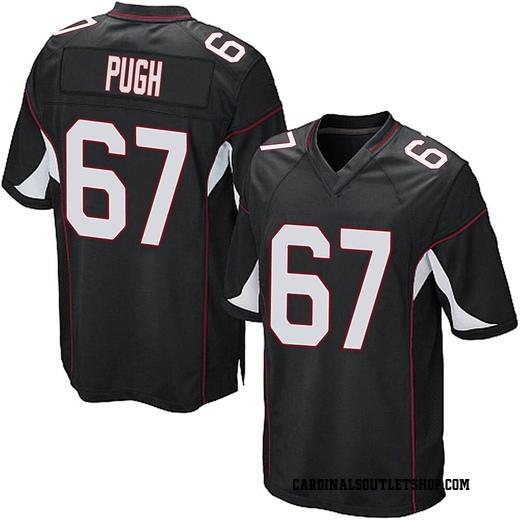 Justin Pugh Men's Arizona Cardinals Nike Alternate Jersey - Game Black