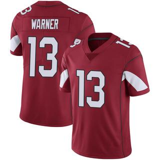 Kurt Warner Men's Arizona Cardinals Nike Cardinal 100th Vapor Jersey - Limited