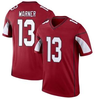 Kurt Warner Men's Arizona Cardinals Nike Cardinal Jersey - Legend