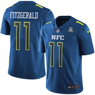 Larry Fitzgerald Men s Arizona Cardinals Nike 2017 Pro Bowl Jersey -  Limited Blue acc488576