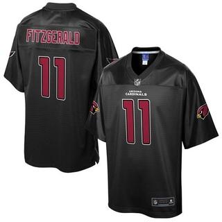 bdcbd4e73 Larry Fitzgerald Men s Arizona Cardinals Nike Pro Line Reverse Fashion  Jersey - Game Black