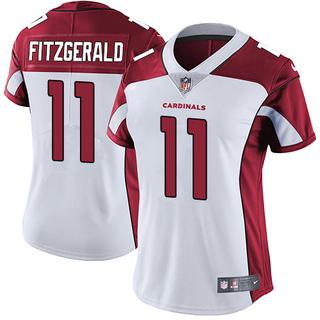 fa89ed72b Larry Fitzgerald Women s Arizona Cardinals Nike Jersey - Limited White