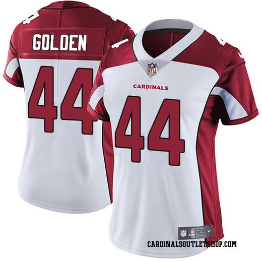 1d38bb807a8f Markus Golden Women s Arizona Cardinals Nike White Jersey - Limited Gold