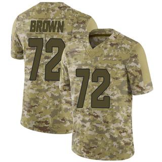 Miles Brown Men's Arizona Cardinals Nike Camo 2018 Salute to Service Jersey - Limited Brown