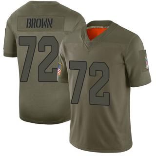 Miles Brown Men's Arizona Cardinals Nike Camo 2019 Salute to Service Jersey - Limited Brown
