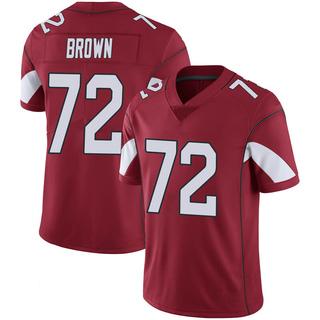 Miles Brown Men's Arizona Cardinals Nike Cardinal 100th Vapor Jersey - Limited Brown