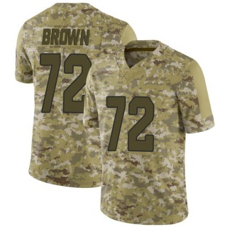 Miles Brown Youth Arizona Cardinals Nike Camo 2018 Salute to Service Jersey - Limited Brown