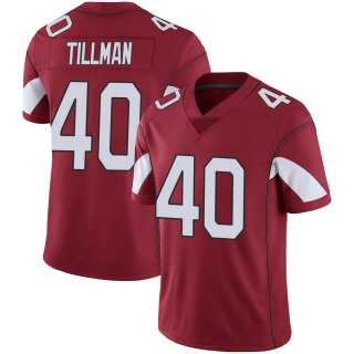 Pat Tillman Men's Arizona Cardinals Cardinal 100th Vapor Jersey - Limited