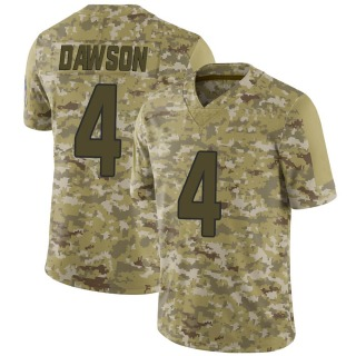 Phil Dawson Men's Arizona Cardinals Nike 2018 Salute to Service Jersey - Limited Camo