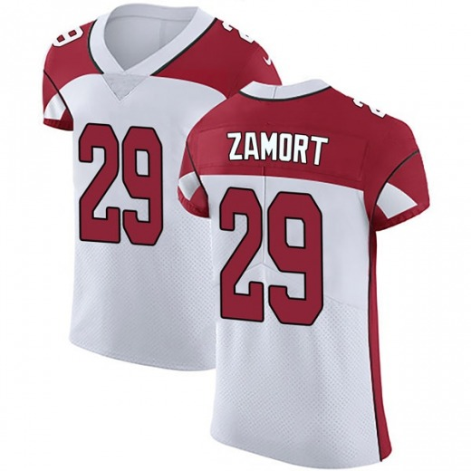 the best attitude 143ff 515b0 Ronald Zamort Men's Arizona Cardinals Nike Vapor Untouchable Jersey - Elite  White