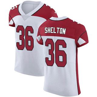 Sojourn Shelton Men's Arizona Cardinals Nike Vapor Untouchable Jersey - Elite White